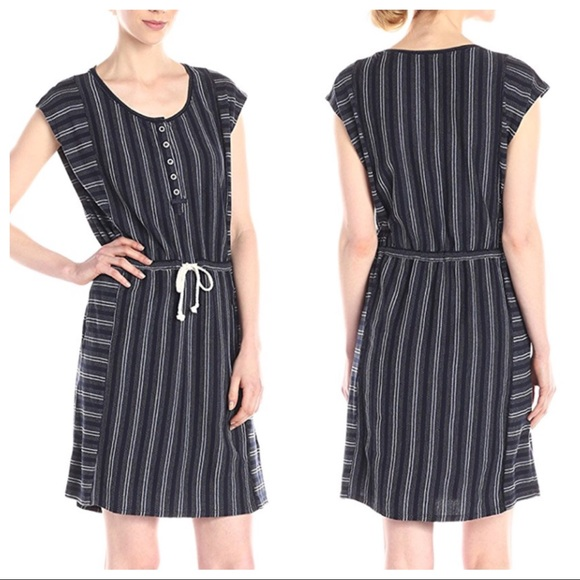 Lucky Brand Dresses & Skirts - Lucky Brand • NWT Navy Striped Dress